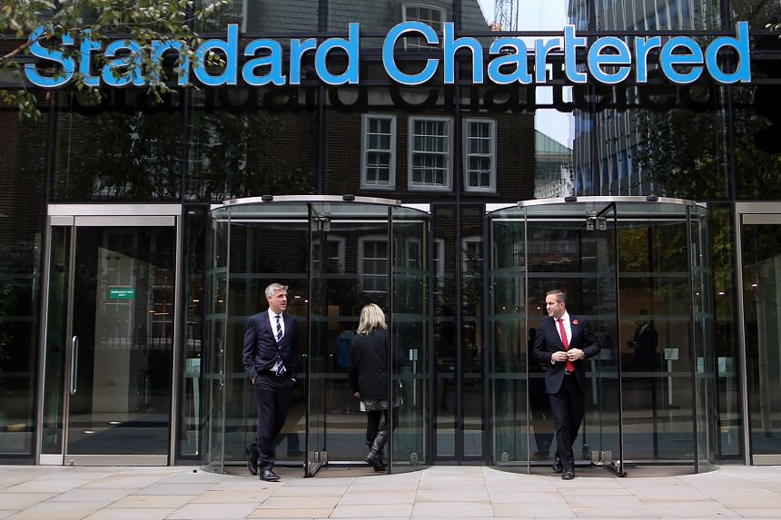 The Standard Chartered headquarters in London. In February, the bank posted its first annual loss since 1989 as revenue fell and loan impairments nearly doubled to the highest in its history.