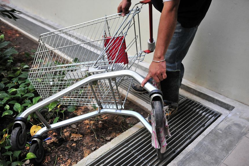 A new crowdsourcing function being added to the MSO's OneService mobile app will allow people to use it to report abandoned trolleys.