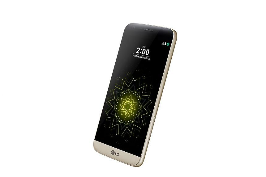 LG's G5 is the first phone from a major maker to introduce modular components to the consumer market.