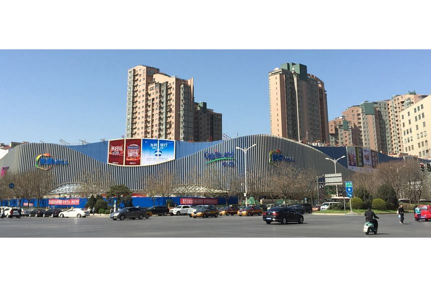 CRCT's CapitaMall Wangjing in Beijing. Rental growth at the trust's multi-tenanted malls is helping to boost earnings even as China moves towards rebalancing the economy as a consumption-driven one.