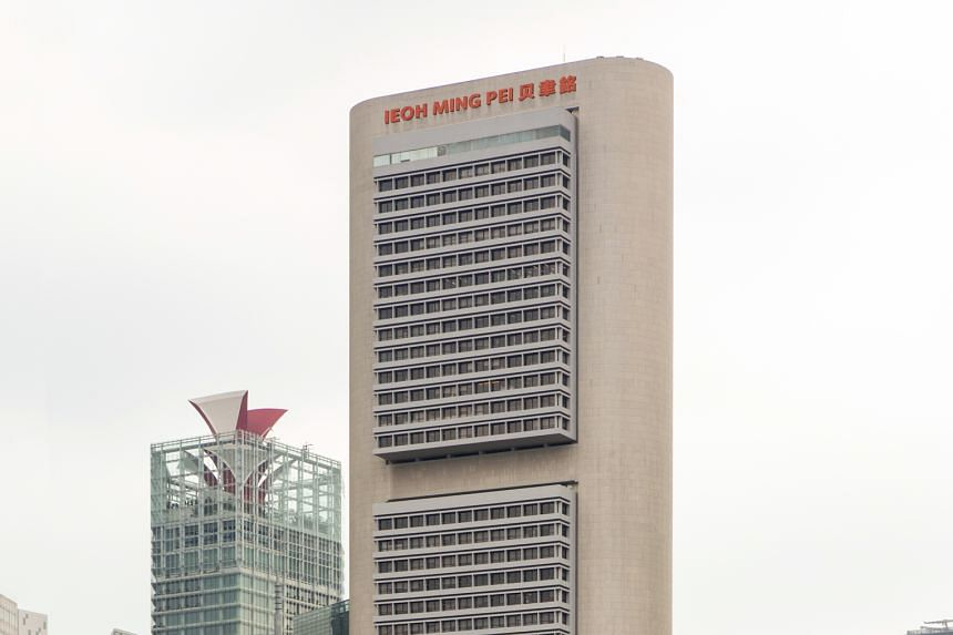 OCBC Centre is one of the buildings photographed as part of the Urban Fork Exhibition.