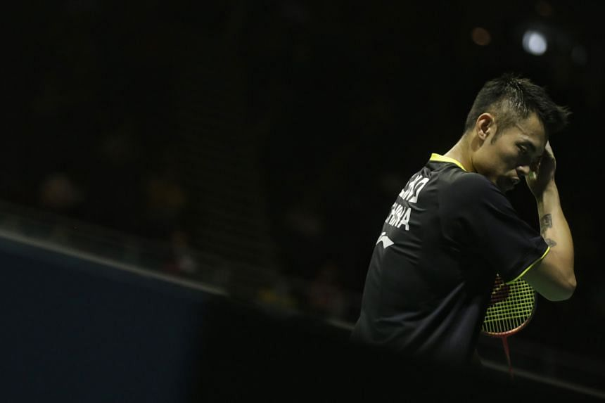 Lin Dan paid the price for a slow start. By the time he got into gear, it was too late to salvage his game .