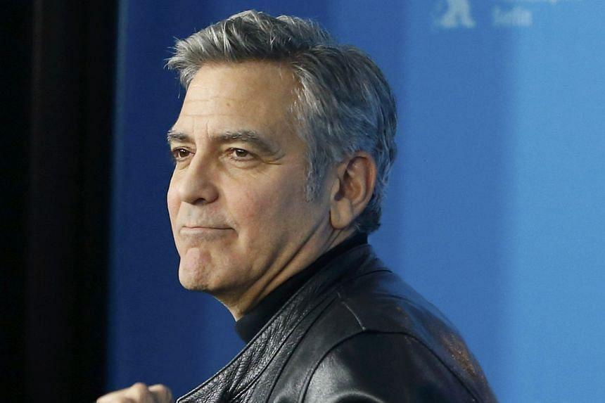 George Clooney hosted a fund-raiser on behalf of Democratic Party hopeful Hillary Clinton last Friday night with a price tag of up to $480,000 a couple.