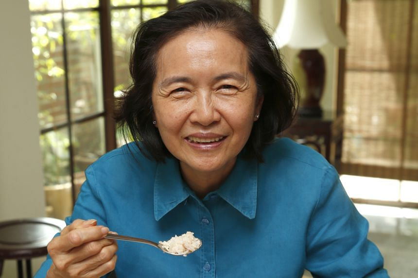 After years of not being able to eat more than a few mouthfuls of anything, Madam Chan can now happily tuck into chicken rice, one of her favourite dishes. She underwent a procedure last year which involved sending a flexible tube called an endoscope