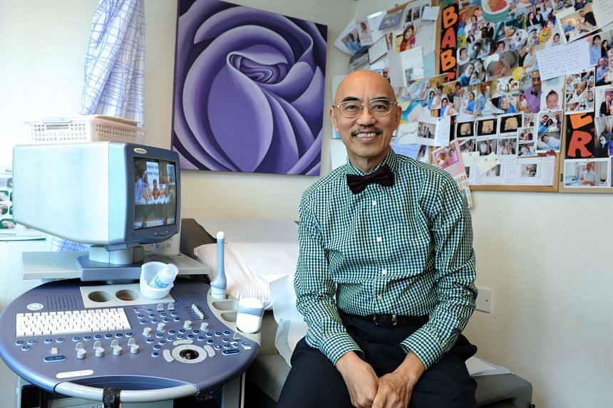 Ultrasonography allows Dr Chow to show unborn babies moving in real-time scans, which makes parents exclaim in joy and amazement. Several patients changed their minds about abortion after seeing their babies.