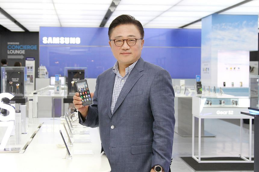 Mr Koh grew up in post-war Korea in the 1960s. He believes in being humble and listening to junior staff. One of his targets as Samsung's mobile chief is to make customers happy.