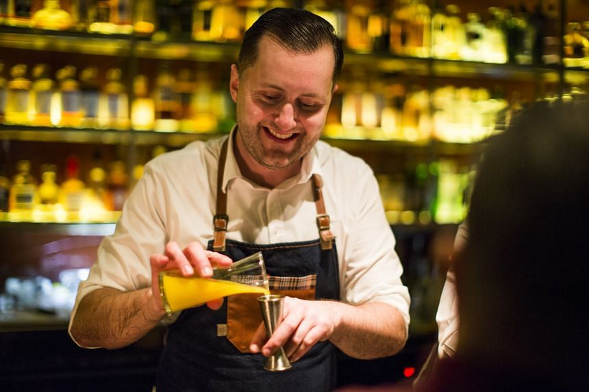 Czech bartender Alex Kratena hopes to keep the drinks industry evolving.