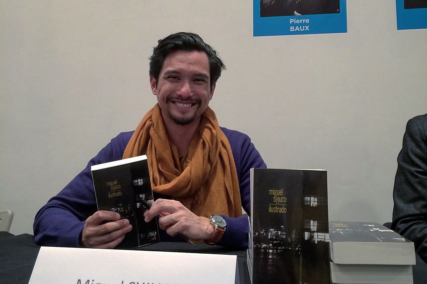 Author Miguel Syjuco is here for the world literature workshops.