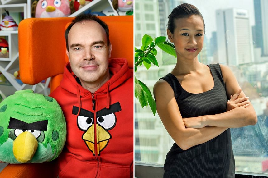 Mr Vesterbacka (above), the creative director behind Angry Birds and Ms Kalayanamitr, co-founder of Orami, are two of the speakers at InnovFest unBound.