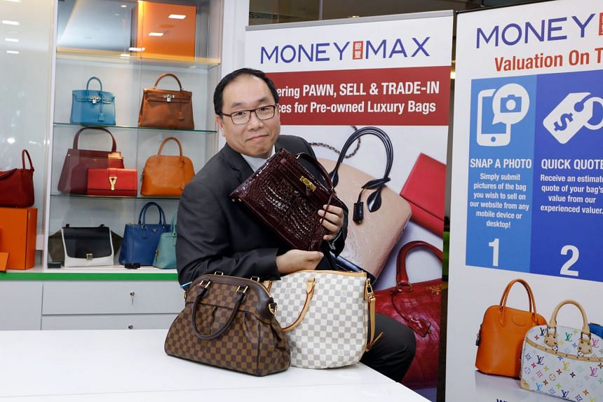 """Mr Lim said Singapore """"has great potential to follow in the footsteps of Hong Kong and Japan and become the regional hub for second-hand designer bags""""."""