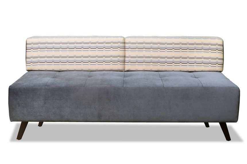 While prices depend on the level of customisation, designing a two-seater sofa (above) starts from $980 and a three-seater sofa, from $1,590.