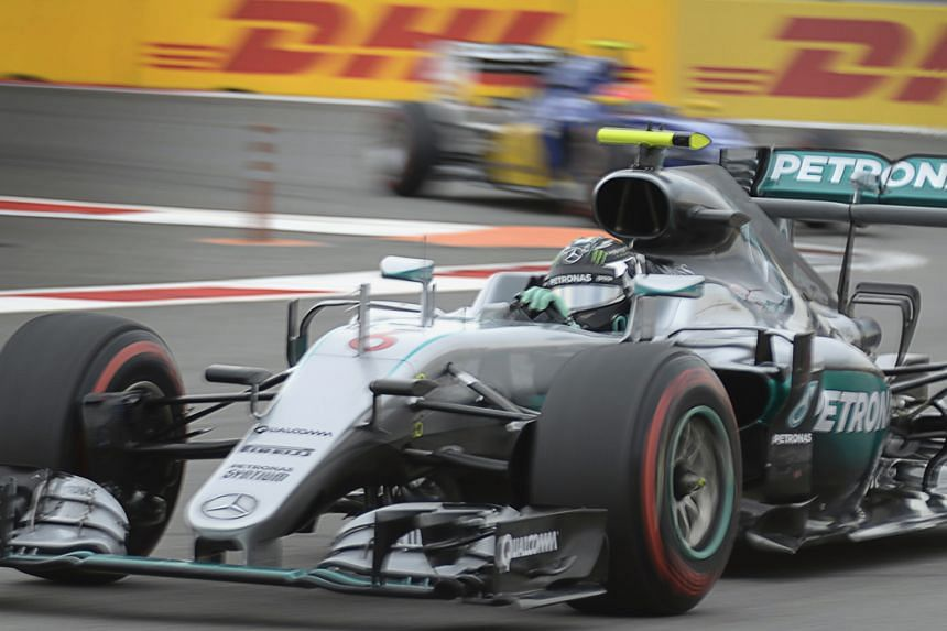 German driver Nico Rosberg claimed his 24th career pole at the Russian Grand Prix at the Sochi Autodrom circuit in a dominant display of Mercedes' prowess this season.