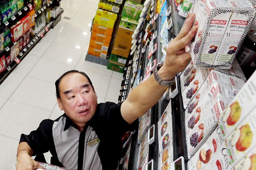 No empty shelves at Cold Storage Heartand Mall when he is around. Mr Sin also mentors part-timers on how to improve displays.
