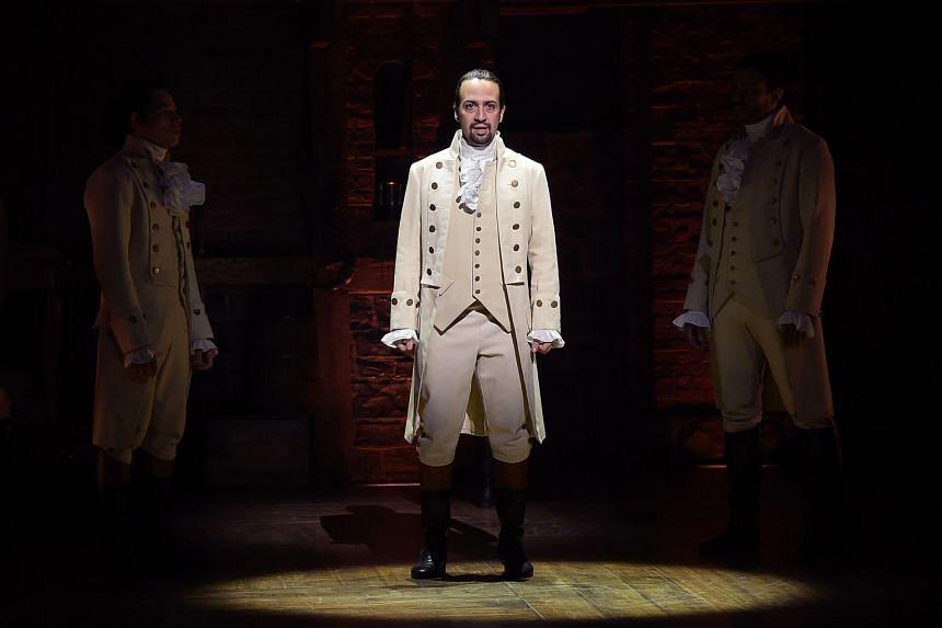 Hamilton's creator, Lin-Manuel Miranda, also stars in the title role.
