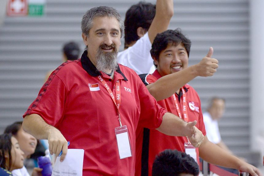 Sergio Lopez (left) and Gary Tan have worked together for almost 18 months. Under their watch, Singapore bagged a record 23 gold medals at last year's SEA Games.