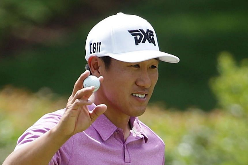 Despite eight missed cuts, James Hahn won a play-off to claim the Wells Fargo Championship title on Sunday.