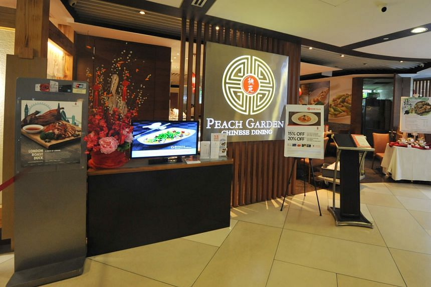 Peach Garden (above) and Lerk Thai restaurants are among the subsidiaries of Select Group.