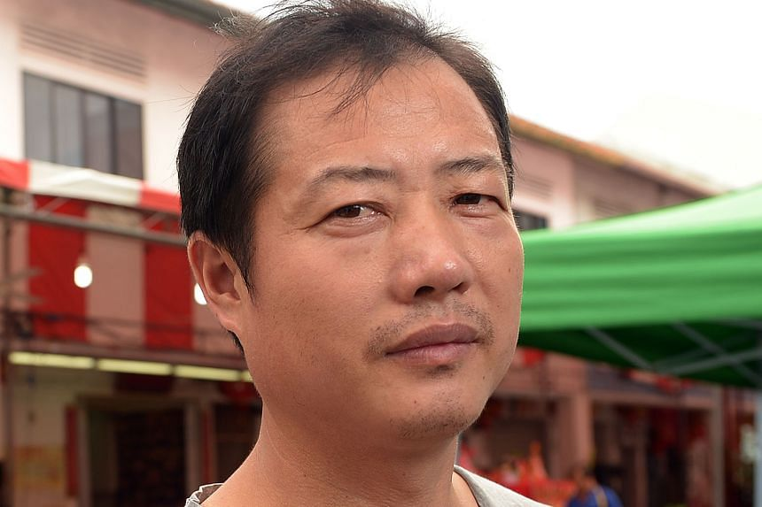 Mr Gu said the worst part of his plight was having to tell his family back home about his situation.