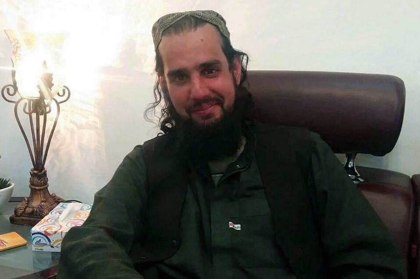 Mr Taseer at a house in Quetta. He was kidnapped in 2011 by Uzbek radicals and later held in an Afghan Taleban jail.