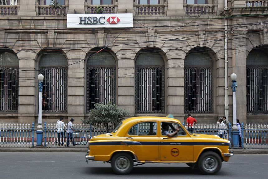 A HSBC bank building in Kolkata, India. The 24 branches the bank is closing in India account for less than 10 per cent of its retail customer base in the South Asian country.