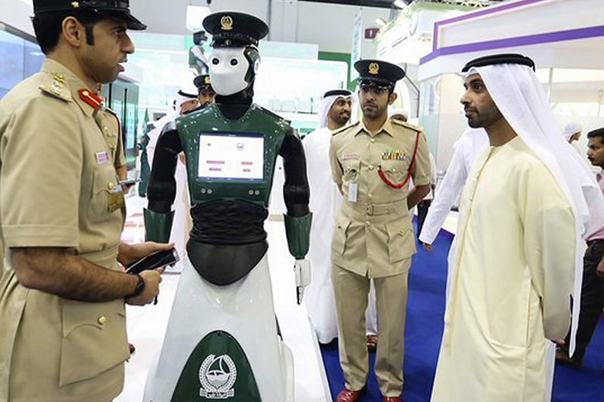 Dubai Police's command-and-control centre has an overview of the city's road network. Video feeds are pumped in by surveillance cameras, enabling police to monitor traffic activities.