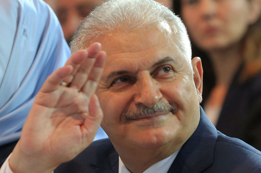 Transport Minister Yildirim (left), 60, is expected to be a more pliant figure than his predecessor for Mr Erdogan.