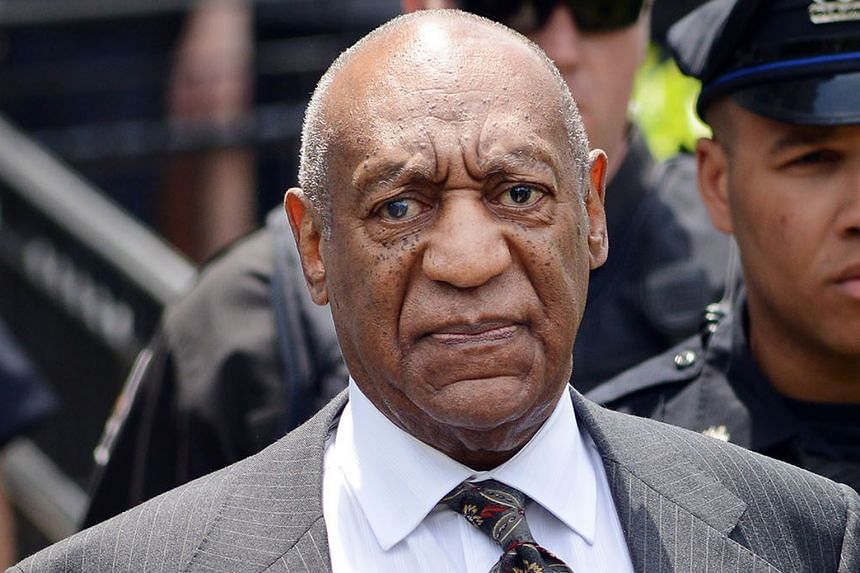 Ms Andrea Constand (left) is accusing Bill Cosby (far left) of drugging and sexually assaulting her in 2004.