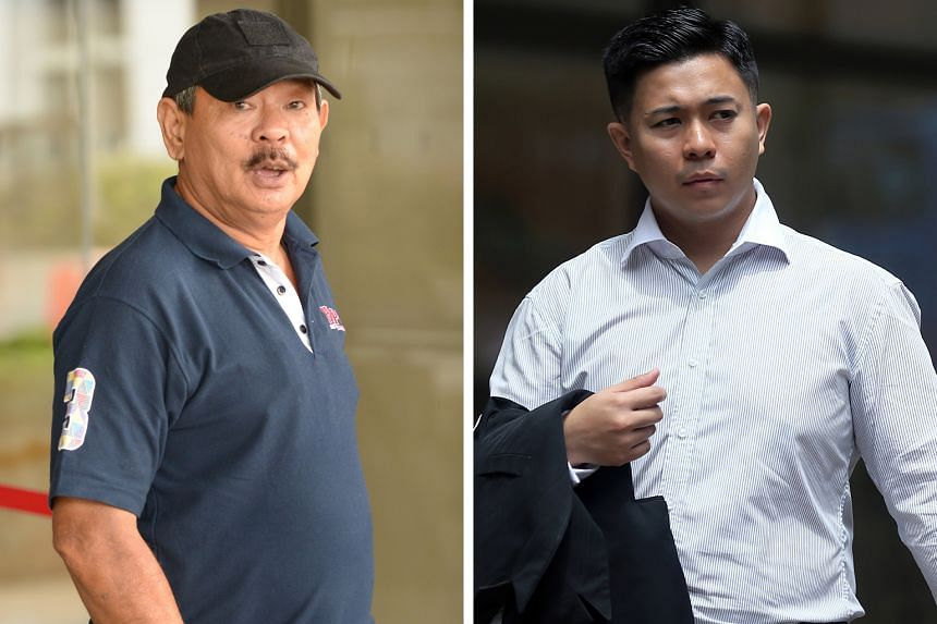Mr Tung (left) first saw Firman (above) with the girl in a stairwell. He said he found it strange that the accused left hastily with the girl upon spotting him.