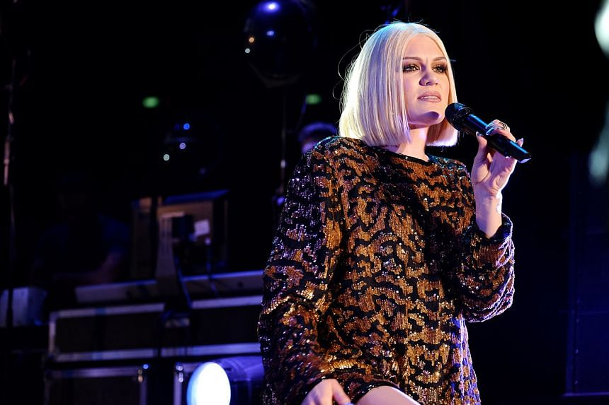 Despite being jet-lagged, singer Jessie J still delivered her songs such as Flashlight with panache.