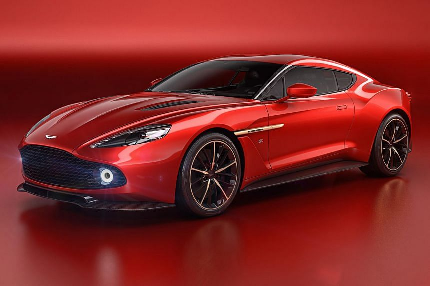 Aston Martin and Italian design house Zagato have produced the Vanquish Zagato concept (above), a mouth-watering creation which was displayed at the Concorso d'Eleganza Villa d'Este last weekend.