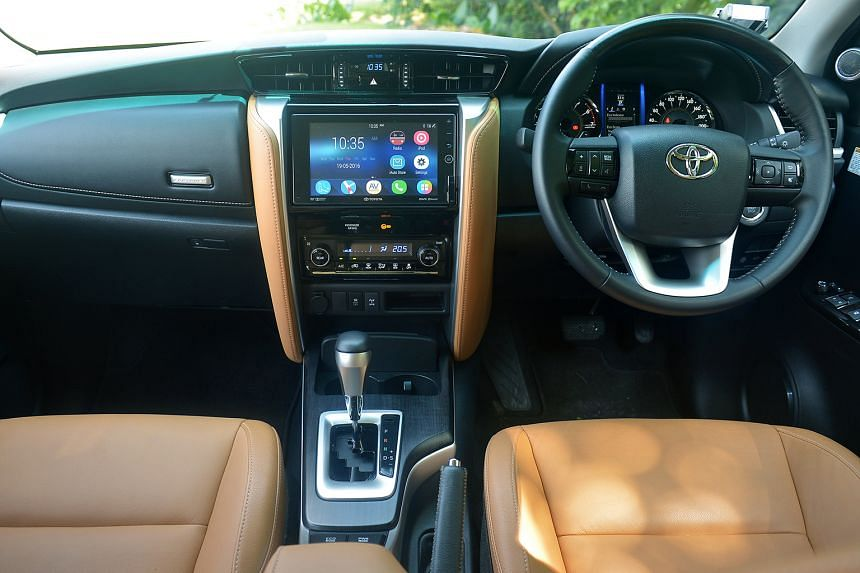 Most of the improvements in the Fortuner are found in the cabin.
