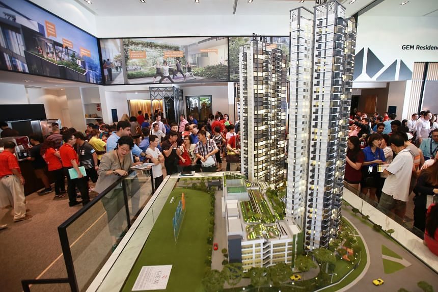 The developers of Gem Residences sold 315 units or 55 per cent of their Toa Payoh project at an average price of $1,426 per sq ft over the weekend. About 300 of these units were sold at its VIP sales booking day on Friday.