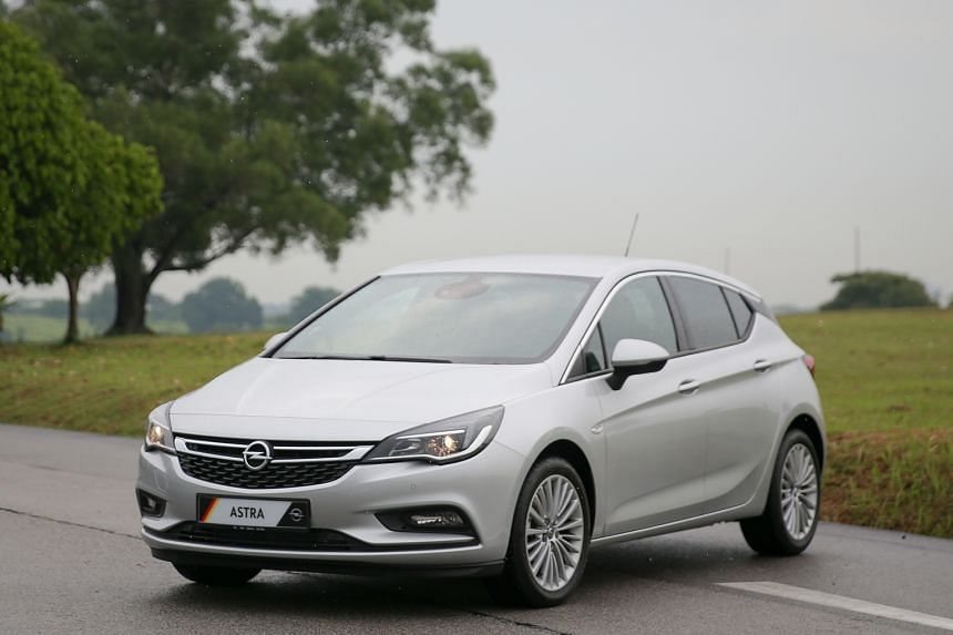 The new Opel Astra is sleek and sexy, with premium features onboard.