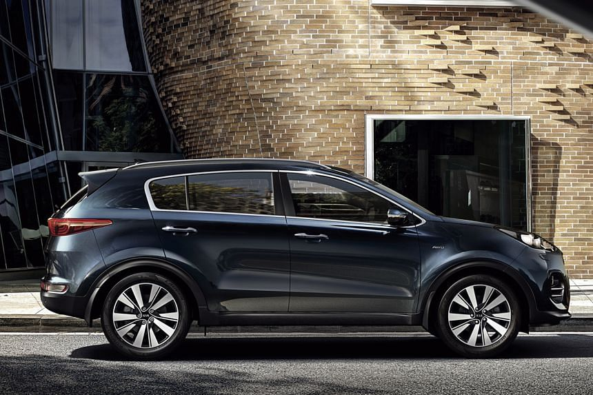Kia's latest Sportage (above) is a stylish compact SUV that will tempt those who are tired of the Honda CR-Vor Toyota RAV4.