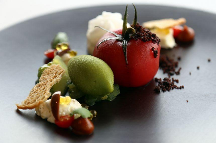 Heirloom Tomato.
