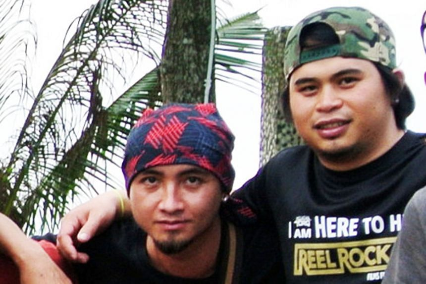 Malaysian trainers Valerian Joannes (left) and Ricky Masirin were among those who died while guiding the pupils of Tanjong Katong Primary School up Mount Kinabalu in June last year.