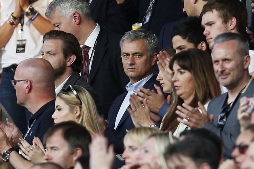 Manchester United manager Jose Mourinho making his first appearance at Old Trafford during the Soccer Aid friendly game as an England XI took on a Rest of the World team. England ran out 3-2 winners.