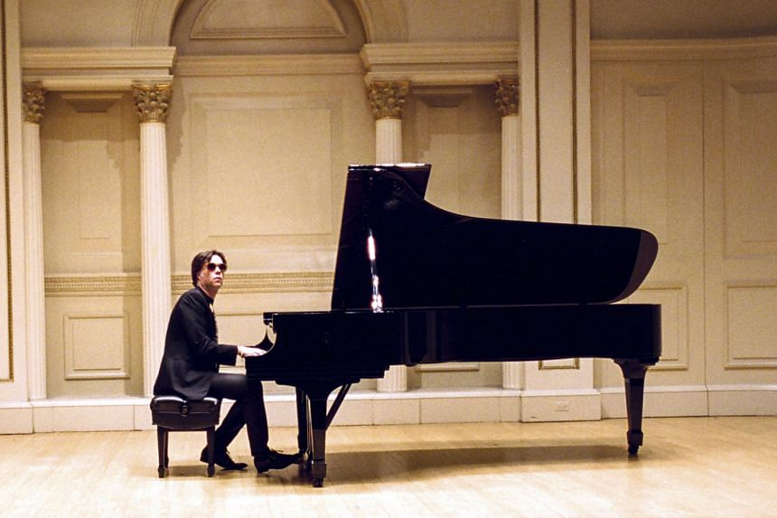 Rufus Wainwright at Carnegie Hall's Weill Recital Hall in New York ahead of his concert.