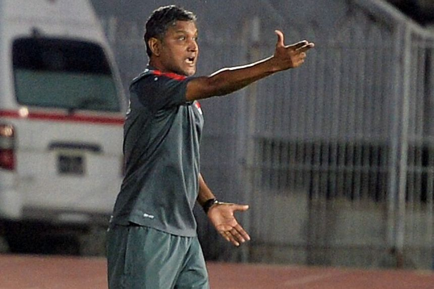 Sundram has his job cut out getting his men ready for the AFF Cup. He urged them to learn to stay focused.