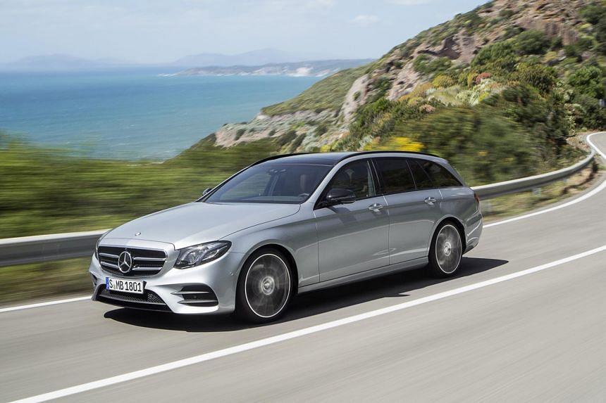 Mercedes-Benz E-class Estate.