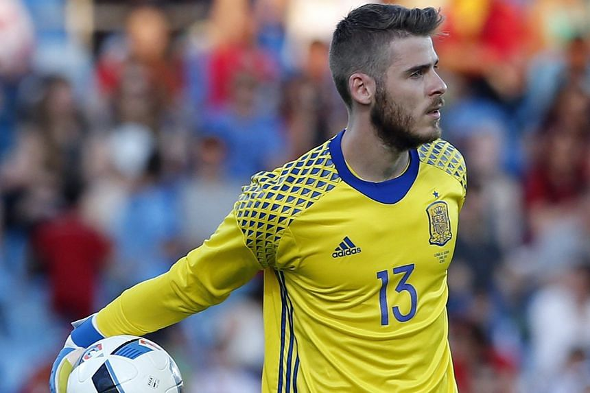 Manchester United custodian David de Gea was expected to be Spain's starting goalkeeper in Euro 2016.