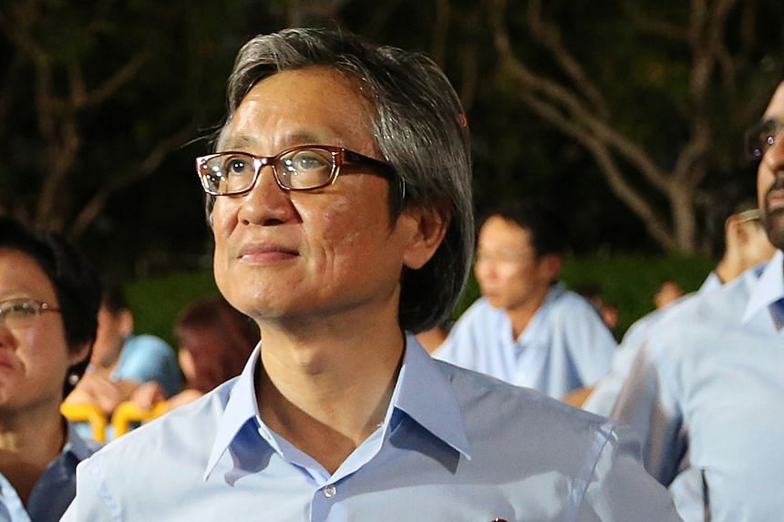 """Mr Chen struck a conciliatory note after his defeat in the WP internal elections, saying he and the leaders have """"a shared vision""""."""