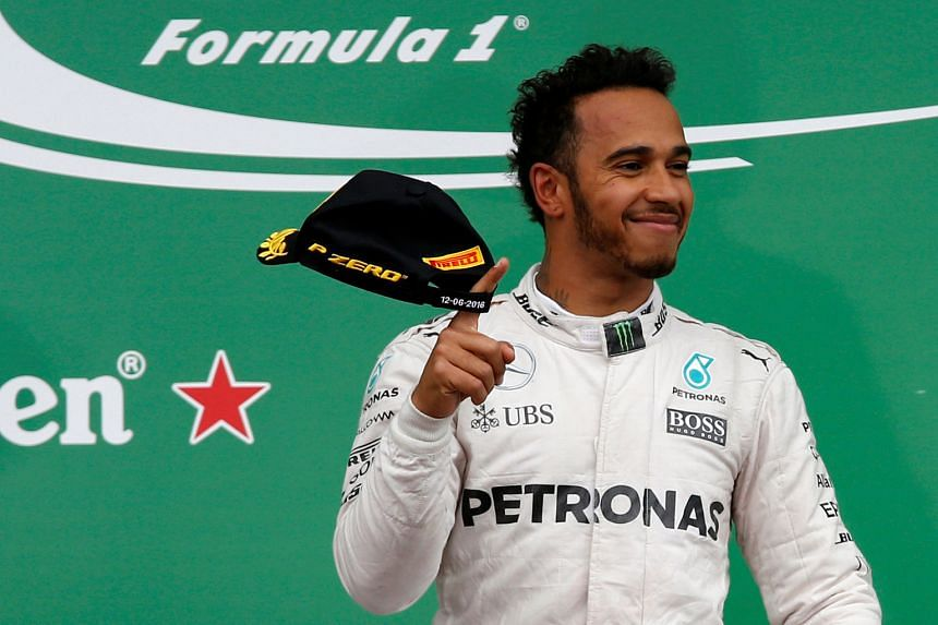 Triple Formula One champion Lewis Hamilton is simply delighted after capturing the Canadian GP in Montreal, cutting his gap to leader Nico Rosberg to nine points.
