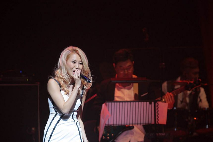 Versatile musician Tay Kewei was in good form at the Esplanade Concert Hall last Friday.