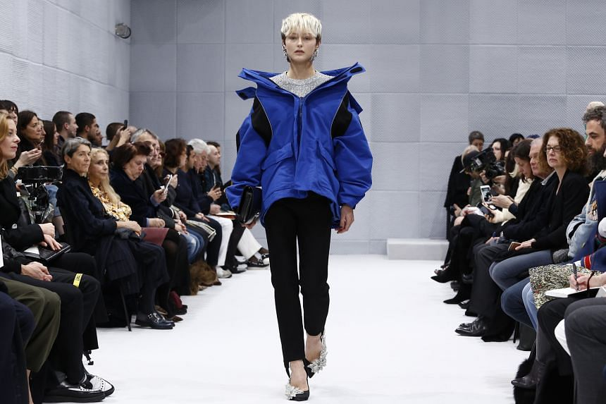 Designer Demna Gvasalia's first women's show for Balenciaga in March featured his reworked Puffer coats.