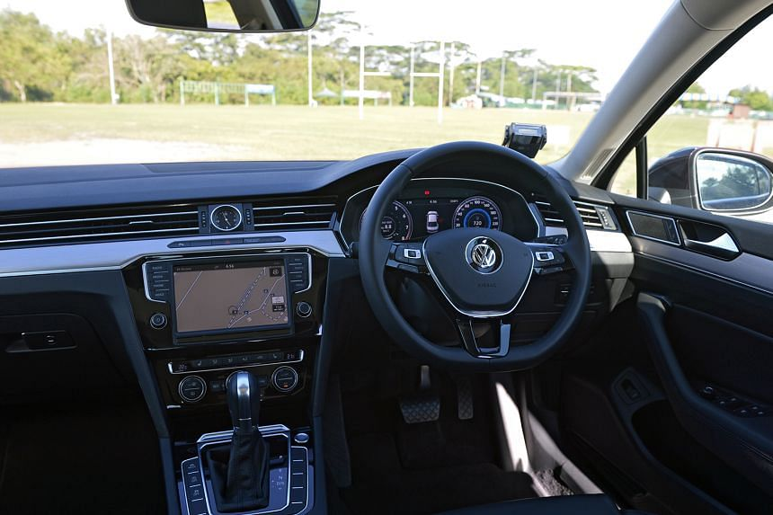 The Passat 2.0 can reach 100kmh from zero in 6.7 seconds and achieve a top speed of 246kmh.
