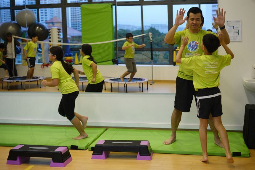 At Brainy Moves, Mr Tang conducts structured exercise and play programmes to help children, especially those with special needs, to learn better.