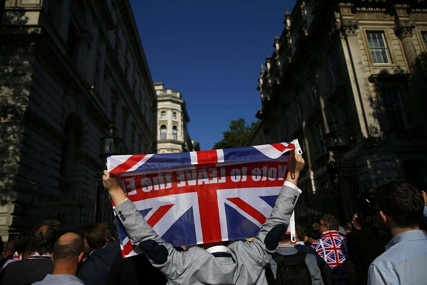 An analyst says there are concerns about whether Britain will be able to sustain its economic growth and negotiate trade and investment deals, and investors will likely offload their risky assets until more clarity emerges from policymakers.