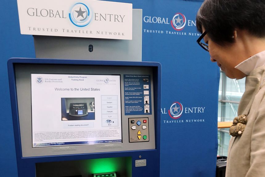 Under the US-Singapore Trusted Traveller Programme, eligible Singapore and American citizens can use automated kiosks to clear immigration more swiftly at major checkpoints in both countries.