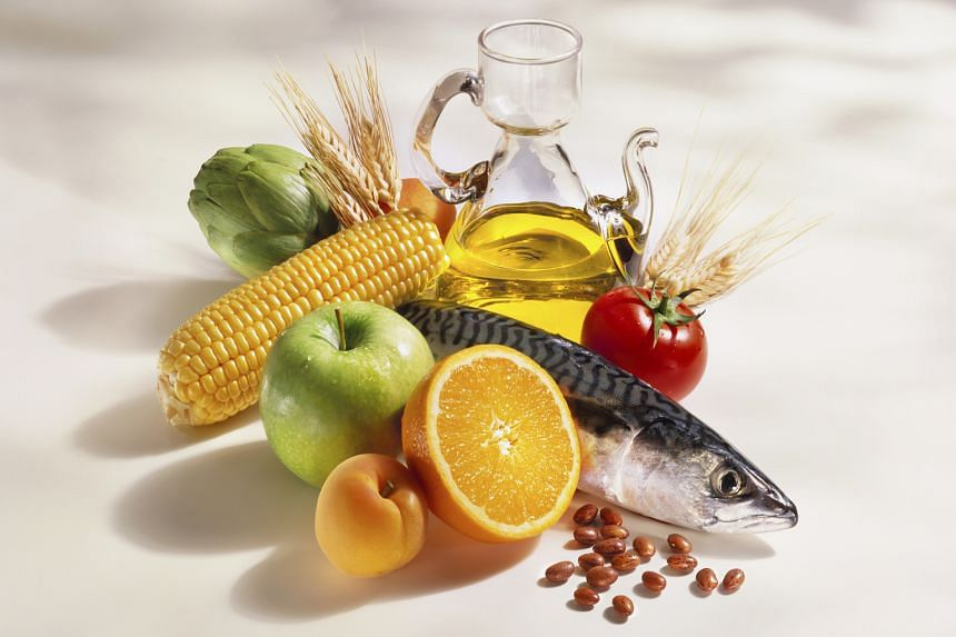 The Mediterranean diet includes more fruit and vegetables, whole grains, seafood and quality oils.